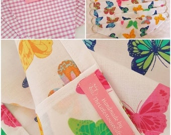 Playhouse Interior Accessories, Playhouse Curtains, Playhouse Tablecloths, Playhouse Bunting, Playhouse Gifts, Birthday Gifts