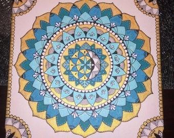 Flor del Caribe/ Mandala