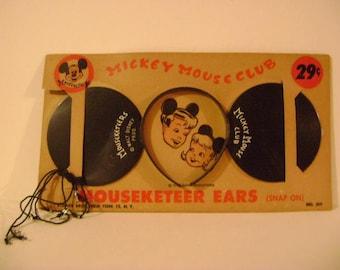 Mouseketeer Ears on Original Cardboard