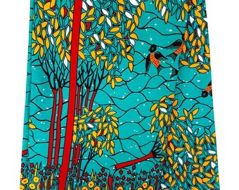 Pink floral fabric African Print / Ankara Fabric / Wax Print / African Cloth/ Bright Fabric/ Bright material