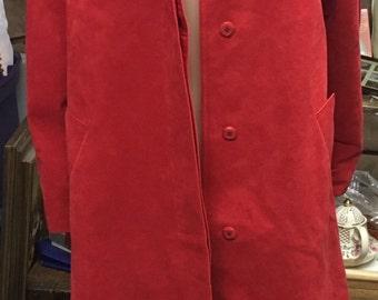 Red Count Romi Traveler Ultra Suede Coat