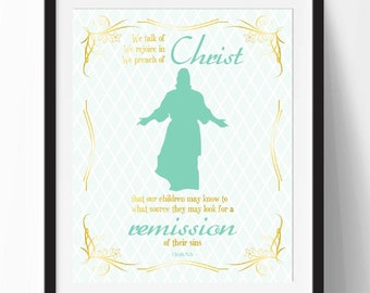 We Talk of Christ Wall Art