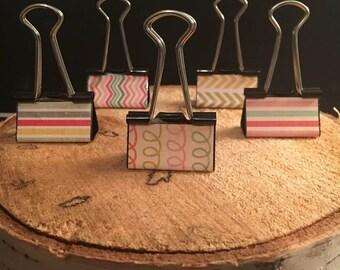 Decorative Binder Clips