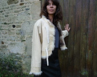 recycled fur Bolero