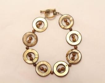 Brown, Round Bracelet