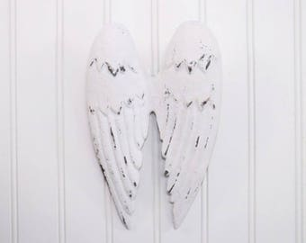 White Angel Wings / Angel Wings Wall Decor / Angel Wings Wall Hanging / Nursery / Spiritual / Nursery Wall Decor