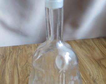 Original USSR vintage glass decanter