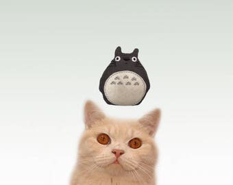 Freak Meowt, Handmade Unique Canadian Catnip Totoro Cool Cat Toys, Gifts for Cats