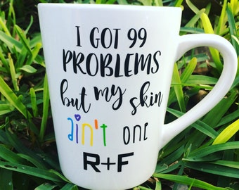Rodan + Fields mug - R+F mug - Rodan + Fields consultant gift - Rodan and fields mug - Rodan and Fields Gift - Rodan and Fields Cup- R+F cup