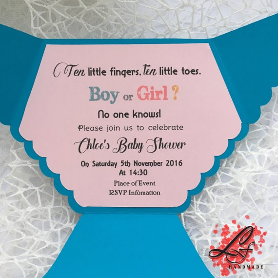 Set of 10 baby shower nappy diaper invitation christening set of 10 baby shower nappy diaper invitation christening invitation baptism invitation boy or girl stopboris Image collections