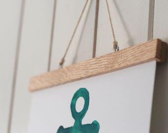 Wooden Magnetic Clip Frame