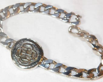 Spanish Ship Wreck Coin Set In Sterling Silver Bracelet, Genuine 4 Reale Coin Set In Italian Bracelet, 925 Bracelet With shipwreck Coin