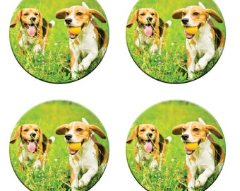 A pack of 4 BEAGLE dogs weights Ideal for weighing down patterns on delicate fabrics no need for pins like TV sewing Bee
