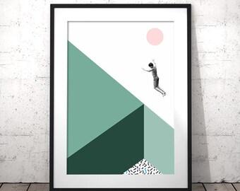 Minimalist Poster, Modern Art, Minimalist Art, Modern Minimalist, Wall Art Printable, Dorm Decor, Dorm Wall Art, Dorm Room Art, Minimalist