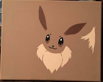 Pokemon canvas paintings