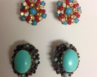 Lot of Vintage Earrings | Vintage Beaded Earrings | Vintage Jewelry