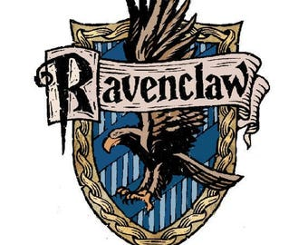 Ravenclaw and motto, Harry Potter Poudlard.
