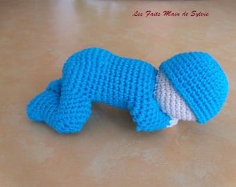Crochet baby sleeper