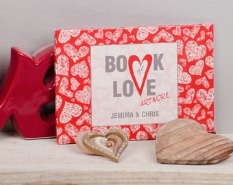 A6 - Personalised Book of Love Artwork