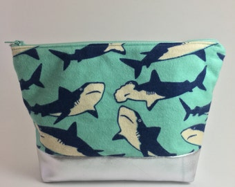 Shark Makeup Bag