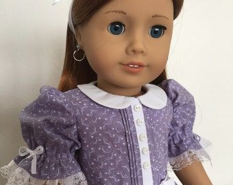Vintage style Frock fits American Girl Dolls