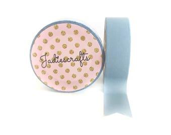 Pale Carolina Blue Washi Tape