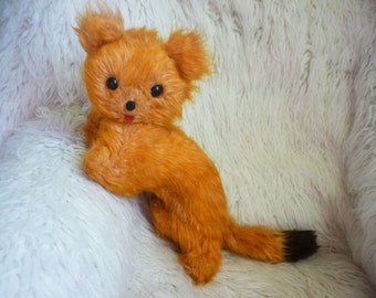 Russian antique cat Soviet Vintage stuffed toy Stuffed cat Plush kitty Stuffed animal Russian vintage Antique toy Retro toy Old toy Gift ロシア