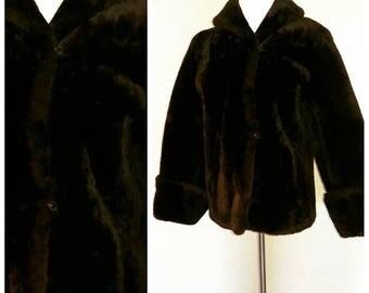 Gorgeous Vintage Faux Fur Coat