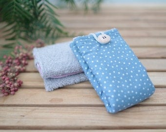 Cotton towel | Blue Sky & star