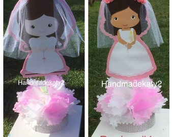 First Holy Communion Centerpiece for your party table decorations.