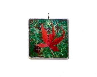 Japanese Maple Leaf Pendant