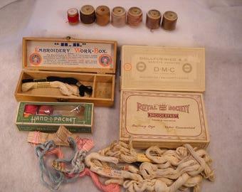 Vintage Embroidery Thread
