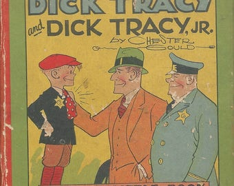 The Adventures of Dick Tracy & Dick Track Jr by Chester Gould-pre-owned BOOK(SO)