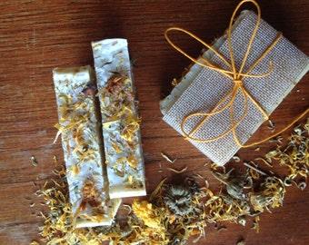 Calendula + Sandalwood - Artisan soap