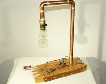 Cool SteamPunk Lamp With LED Blub