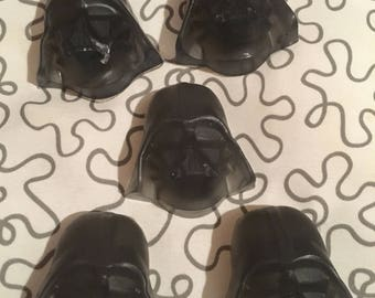 6 - Olive Oil Glycerin Base - Darth Vader with Vitamn E.