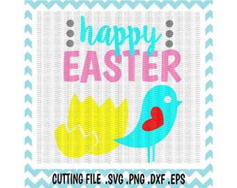 Easter SVG, Easter Chick, Easter Egg, Svg- Dxf- Png- Eps,  Cutting Files For Silhouette Cameo and  Cricut, Svg Download.