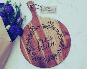 Mum's Kitchen - Personalised Paddle board - Mothers Day