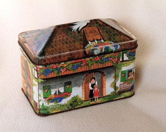 House Shaped Tin - 1987
