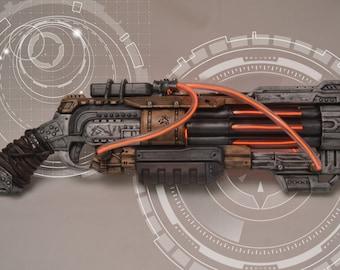 Steampunk, Cyberpunk, Cosplay Vagabond Nerf Gun