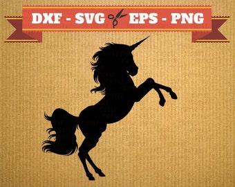Unicorn SVG Unicorn vector files for cricut, Unicorn cutting files, clipart Unicorn, DXF files Unicorn, silhouette Unicorn, svg Unicorn