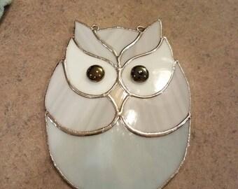 Fun owl sun catcher