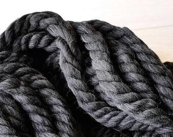 Super chunky yarn, Giant wool yarn, Merino wool yarn, Super bulky yarn, Wool yarn, Giant yarn, Chunky yarn, Chunky blanket, Wool Bulky yarn
