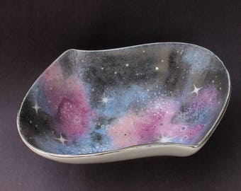 Small galaxy bowl silver
