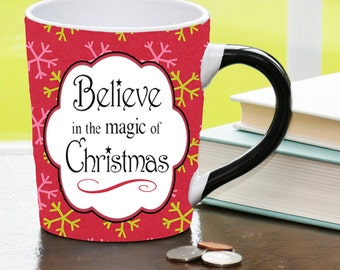 Christmas Mugs, Holiday Mugs, Christmas Gift Mugs, Holiday Gift Mugs; Secret Santa Gifts