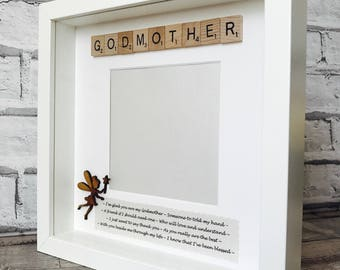 godmother gift fairy godmother frame personalised godmother gift special godmother framegodmother christening gift gift for godmothers