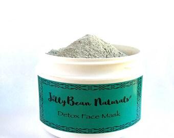 Bentonite Clay+Diatomaceous Earth Mask/Clay Mask/Facial Mask/Clay Mask Handmade/Face wash/Face Mask/All Natural Face Mask/Healing Mask/8oz