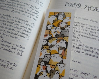 Guinea pig bookmark [ORIGINAL ART]