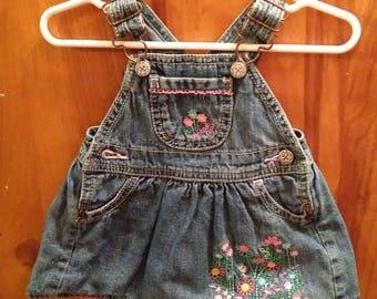 OshKosh Upcycled Clothes Pin Bag