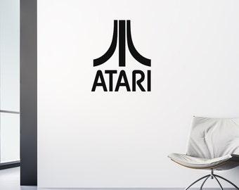 Atari Decal, Gamer Decal, Gamer Gifts, Atari, Nerd Gifts, Geekery, Decals